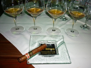 Cigars and Malvazija (Photo: Cliff Rames)