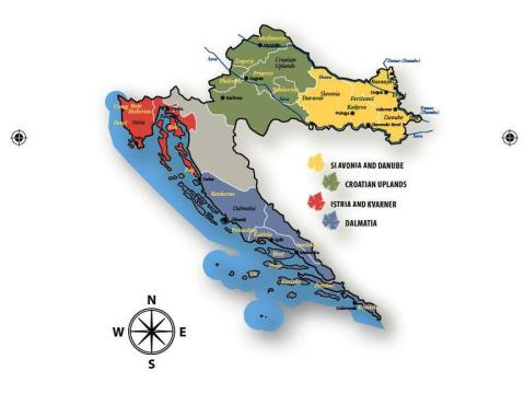 Wine Regions of Croatia