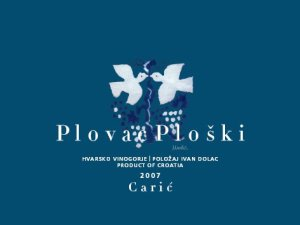 redesigned Plova Ploski label